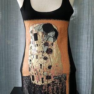 Gustav Klimt (The Kiss) Tank Top